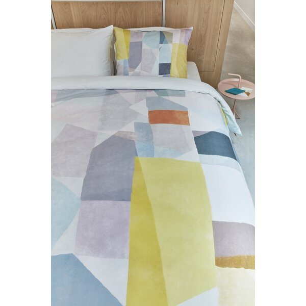 Saul 100% Cotton 3 Piece Duvet Set by Corrigan Studio